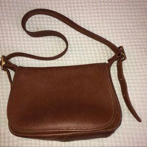 Vintage Coach Patricia Saddle Shoulder Bag